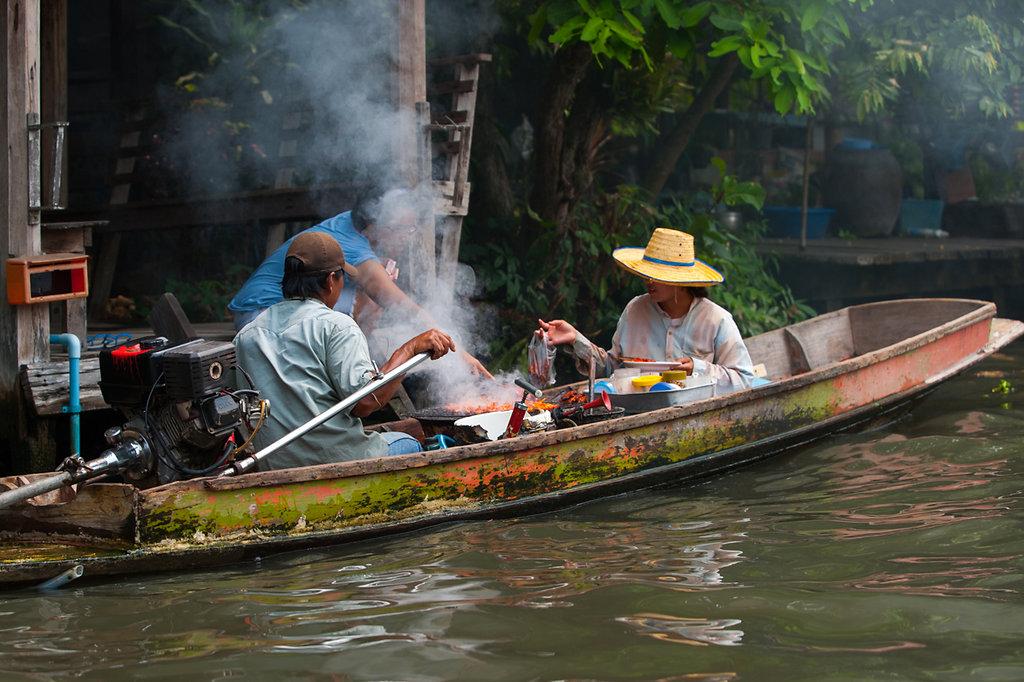 Bangkok Khlongs - Lieferservice