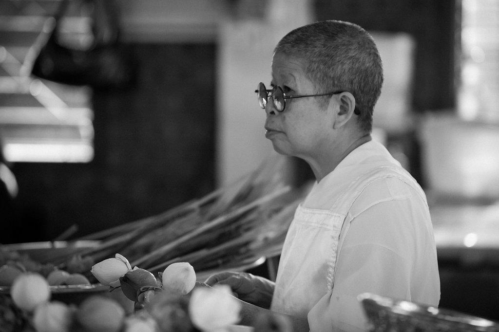 Chiang Mai - Wat Doi Suthep innere Ruhe